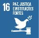 Paz, justiça e instituições eficazes todos os níveis