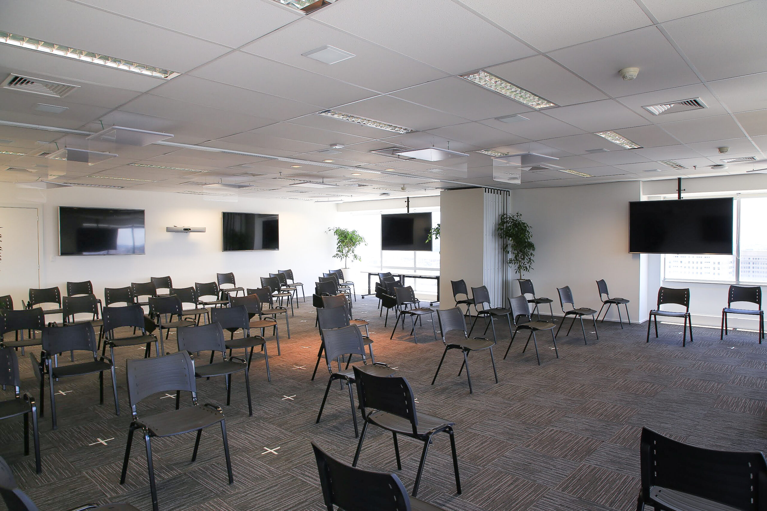 Sala Gaia Montagem Preparada para Covid-19