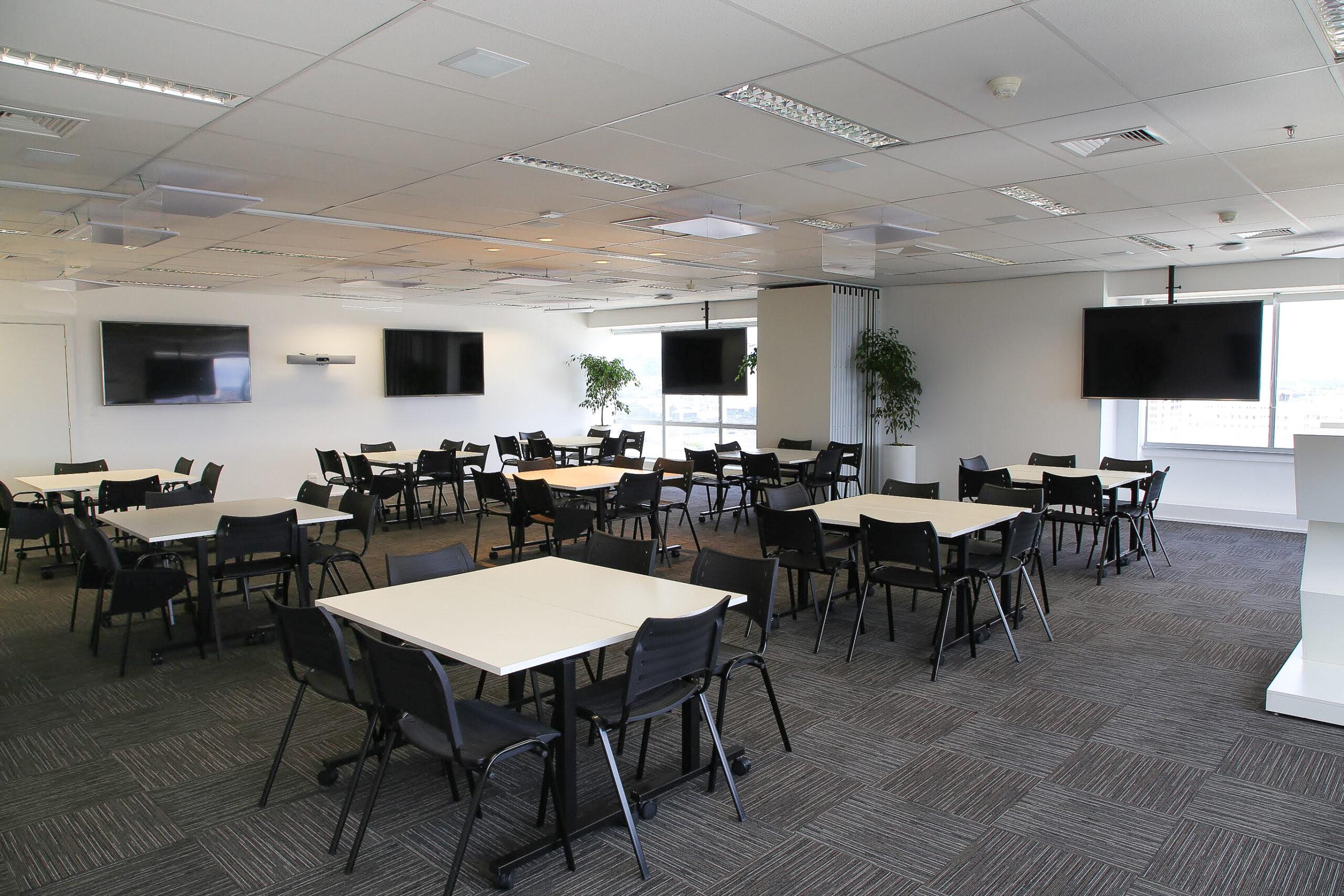 Sala Gaia Montagem Preparada para Grupos